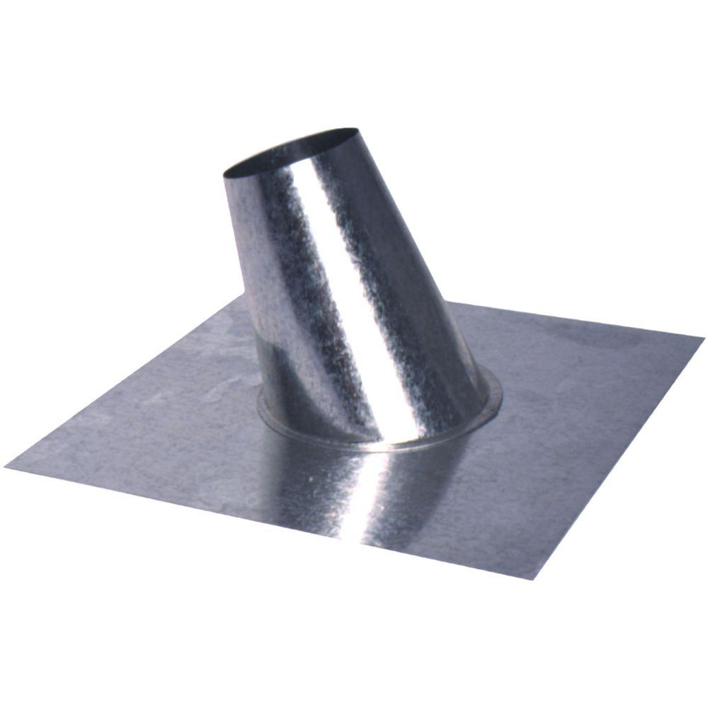 null 4 in. Roof Flashing with Tapered Stack