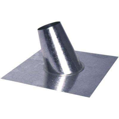6 in. Roof Flashing with Tapered Stack