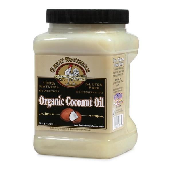 Great Northern 32 oz. Premium Organic Coconut Oil HWD630200