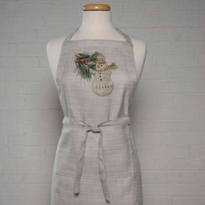Wintertime 34 in. Natural Apron