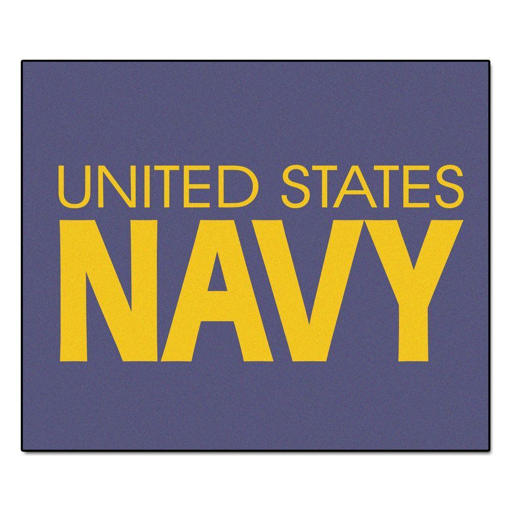 U.S. Navy 5 ft. x 6 ft. Tailgater Rug