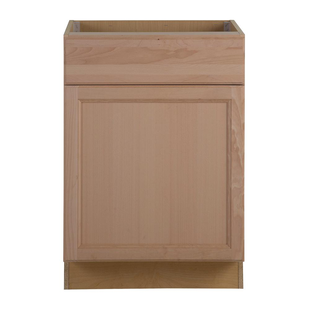 Home Depot Kitchen Cabinets Unfinished: Hampton Bay Assembled 24 In. X 34.5 In. X 24.63 In