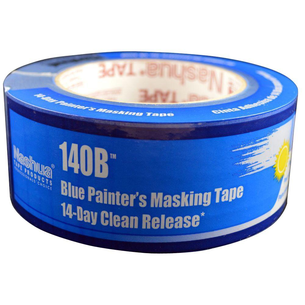 1.89 in. x 60.1 yds. 140B Premium 14-Day Blue Masking Tape