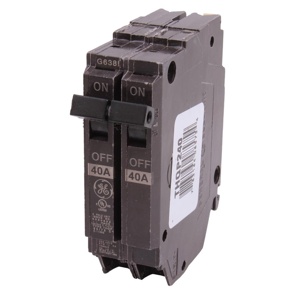 NEW GE THQL THQL2125 25 amp 2 pole circuit breaker New Style