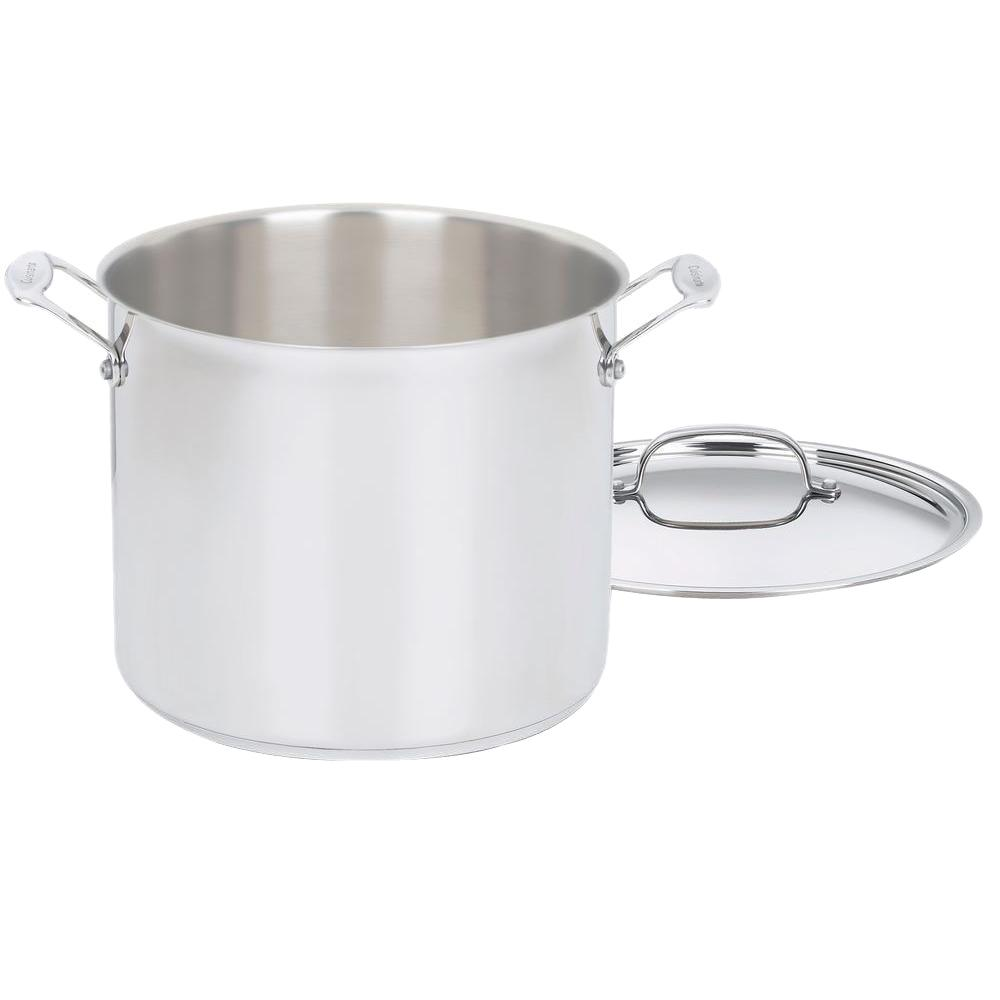 Cuisinart Cuisinart Chef's Classic 12 Qt. Stainless Steel Stock Pot with Lid