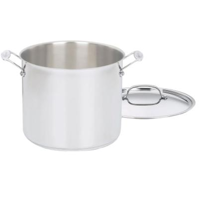 Chef's Classic 12 qt. Stainless Steel Stock Pot with Lid