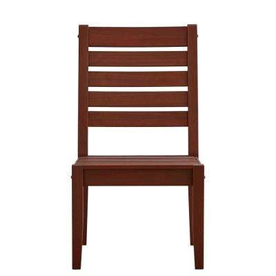 Verdon Gorge Brown Wood Outdoor Dining Chair