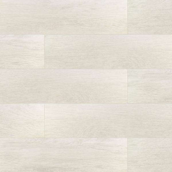 Capel Bianco 6 in. x 24 in. Matte Ceramic Floor and Wall Tile (17 sq. ft. / case)