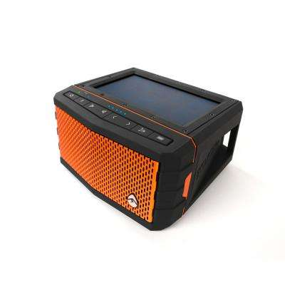 Sol Jam Solar Powered Waterproof Bluetooth Speaker, Orange