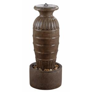 Kenroy Home 37 inch Ernesto Tuscan Earth Finish High Outdoor Floor Fountain by Kenroy Home