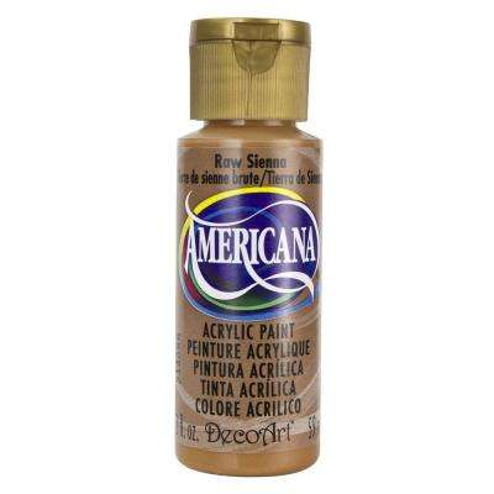 Americana 2 oz. Raw Sienna Acrylic Paint