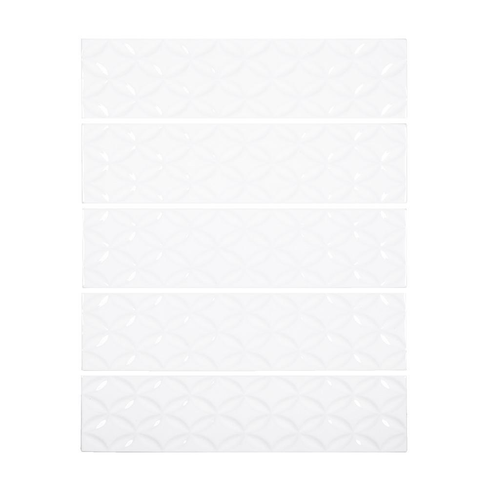 White Ceramic Tile Tile The Home Depot