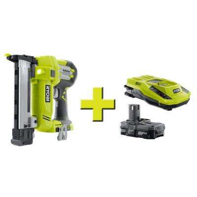 18-Volt ONE+ AirStrike 18-Gauge Cordless Narrow Crown Stapler + Lithium Upgrade Kit