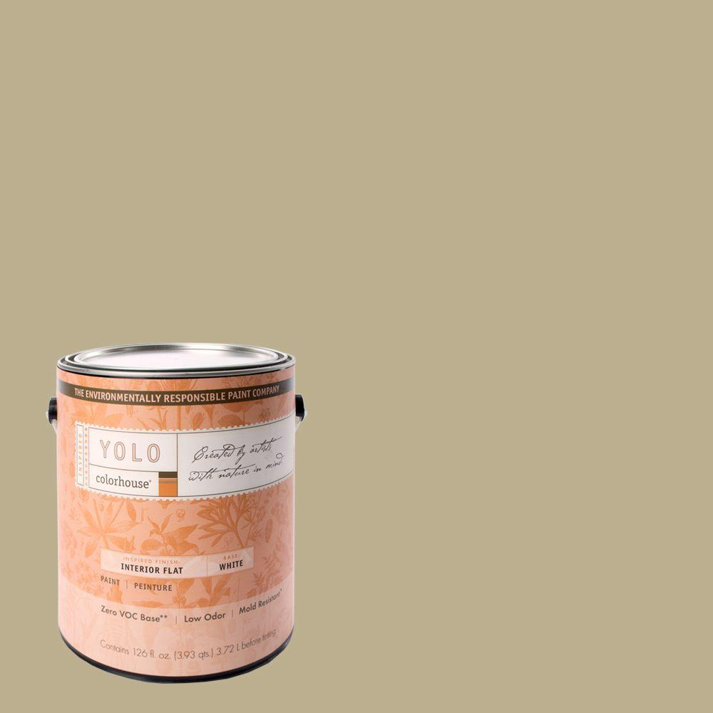 YOLO Colorhouse 1-gal. Metal .02 Flat Interior Paint-DISCONTINUED