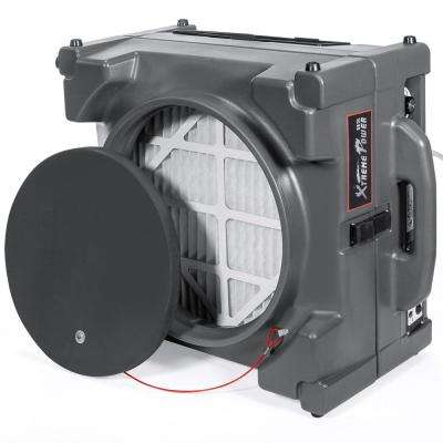 1/4 HP Commercial Industrial HEPA 2-Stage Air Purifier Scrubber Negative Air Pressure Machine