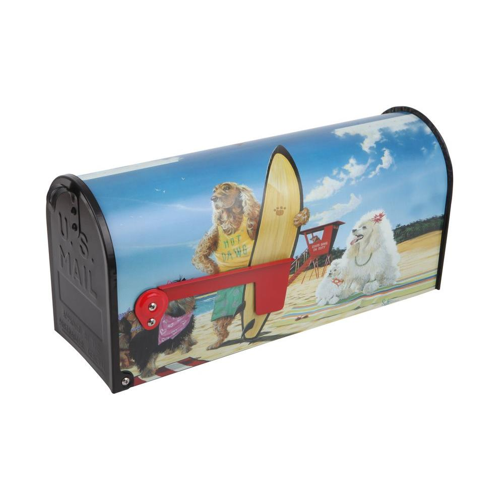 Sainty International Post Mount Hot Dawg Mailbox
