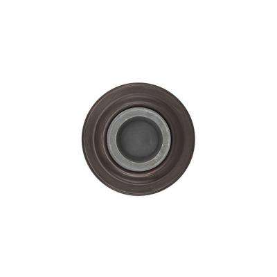 2.4 in. Venetian Bronze Concave Wall Mounted Door Stop