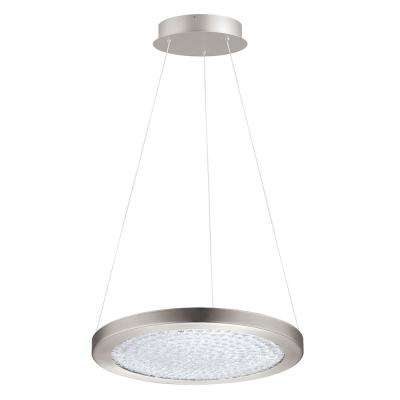 Arezzo 3 1x19-Watt 15 in. 1-Light LED Pendant with Matte Nickel