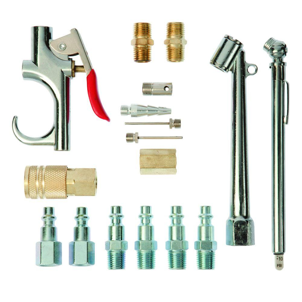 Workforce 17-Piece Air Compressor Accessory Kit