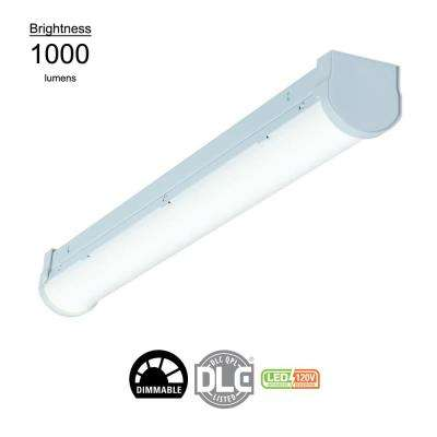 2 ft. Linear White Integrated LED Ceiling Strip Light with 1250 Lumens, 4200K, Dimmable