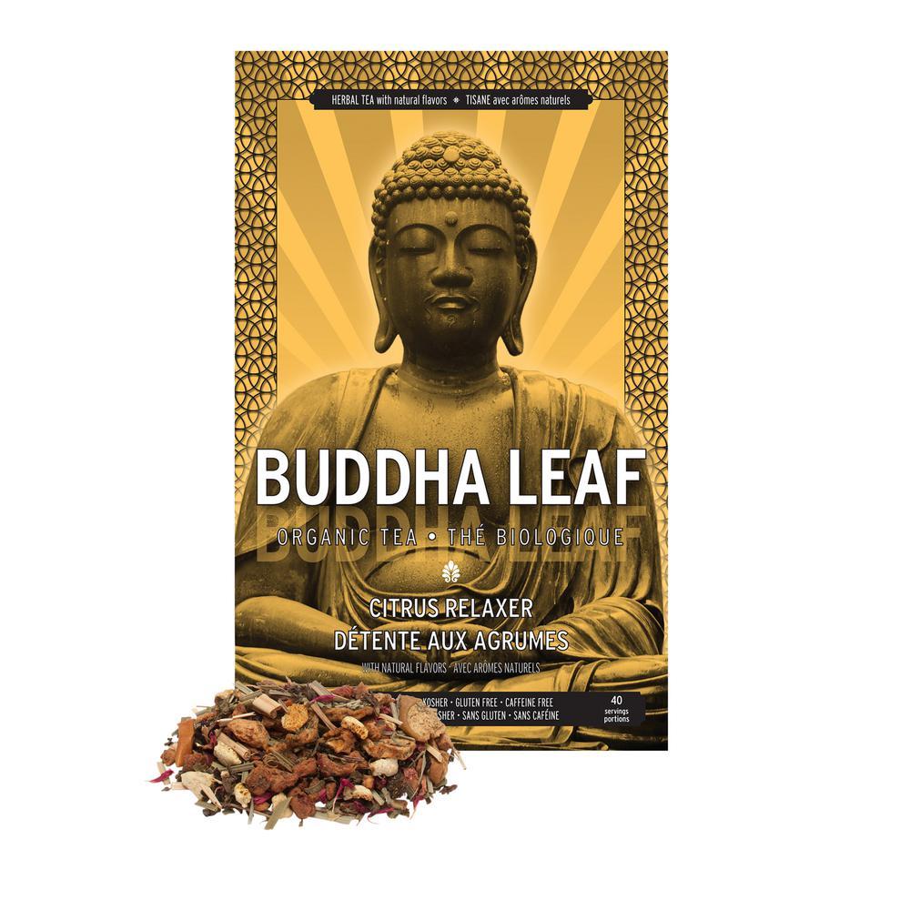 BUDDHA LEAF Citrus Tea Relaxer (6 Bags) TS-130-CS