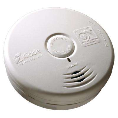 10-Year Sealed Battery Smoke Detector with Photoelectric Sensor