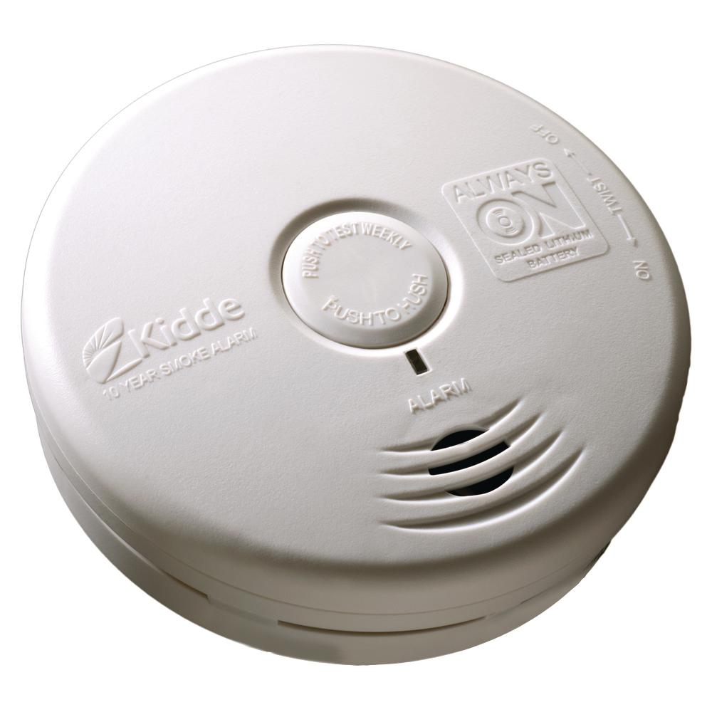 10-Year Battery Operated Photo Electric Smoke Detector
