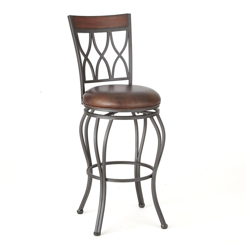 Awe Inspiring Wallen Swivel Barstool Ibusinesslaw Wood Chair Design Ideas Ibusinesslaworg