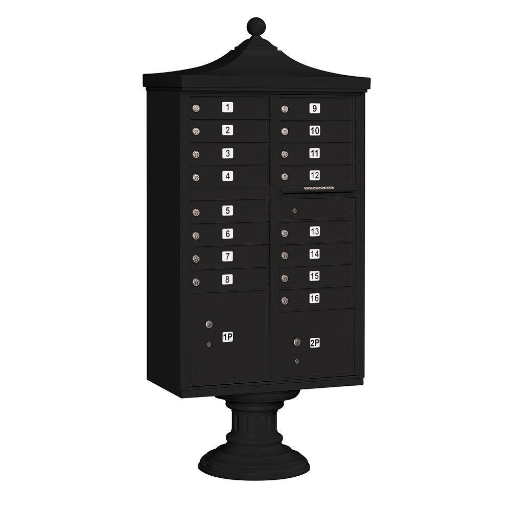 3300R Series Black Private 16 A Size Doors Type III Regency