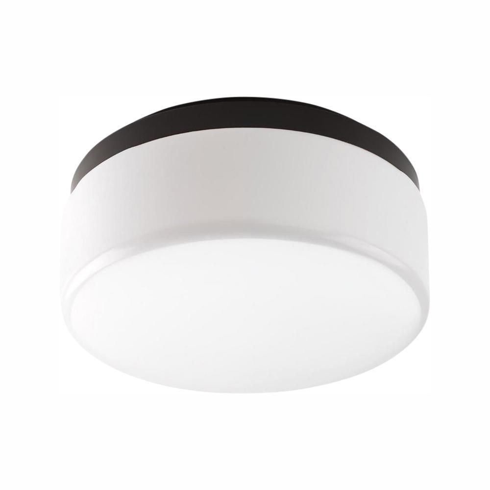 Progress Lighting Maier LED Collection 20.5-Watt Antique Bronze Integrated LED Flush Mount