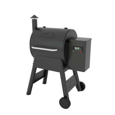 Pro 575 Smart Pellet Grill and Smoker in Black with Wifi Technology