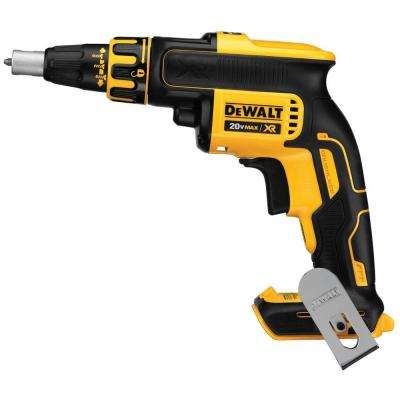 20-Volt MAX XR Lithium-Ion Cordless Brushless Drywall Screw Gun (Tool-Only)