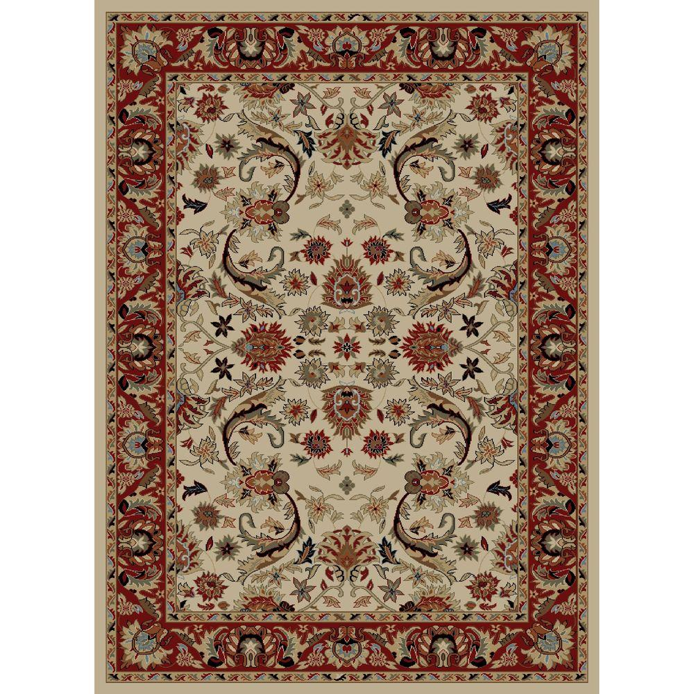 Concord Global Trading Ankara Sultanabad Ivory 2 ft. 7 in. x 4 ft. 1 in. Accent Rug