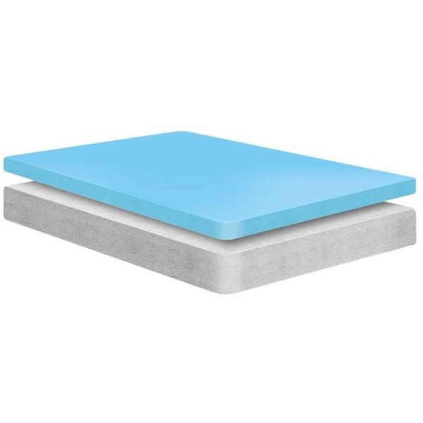 MODWAY 6 In Twin Memory Foam Mattress MOD 5344 WHI The