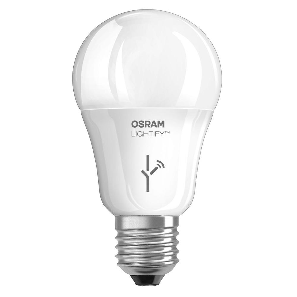 OSRAM SYLVANIA Lightify 60W Equivalent Tunable Soft White A19 Dimmable LED Light Bulb