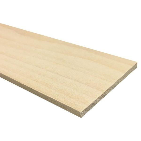 1/4 in. x 4 in. x 4 ft. S4S Poplar Board