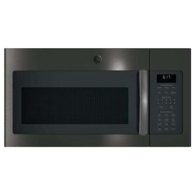 1.7 cu. ft. Over the Range Microwave with Sensor Cooking in Black Stainless Steel, Fingerprint Resistant