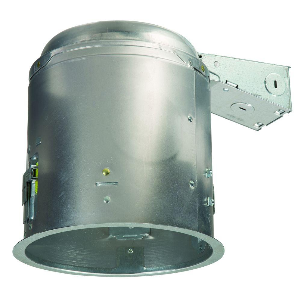 Halo E26 6 in. Aluminum Recessed Lighting Housing for Remodel ...