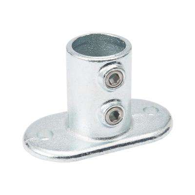 1-1/4 in. Galvanized Structural Steel Rail Flange (2-Pack)