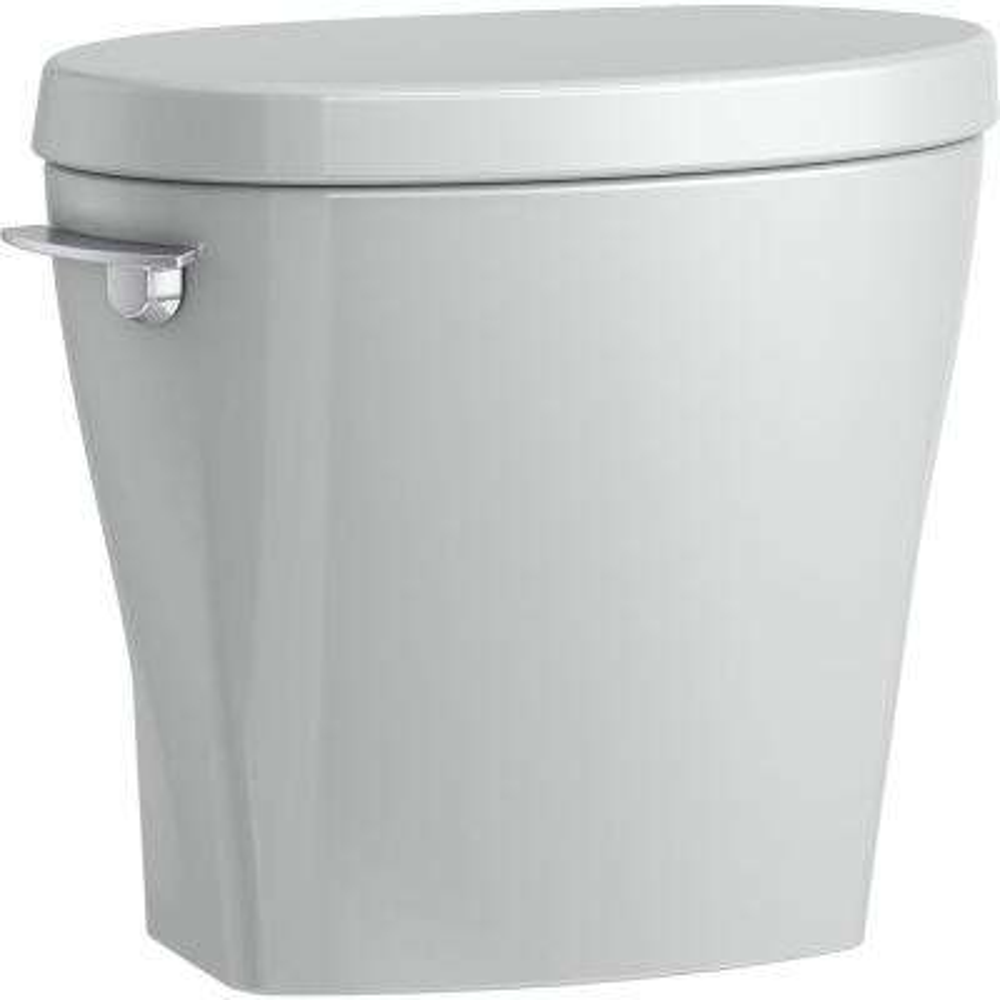 Betello 1.28 GPF Single Flush Toilet Tank Only in Ice Grey