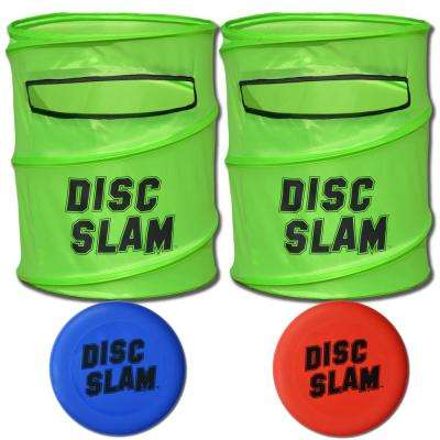 Disc Slam Flying Disc Game Set with 2-Discs and Travel Case