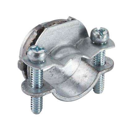 3/4 in. Non-Metallic (NM) Twin-Screw Clamp Connectors (5-Pack)