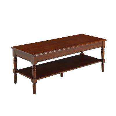 French Country Espresso Coffee Table
