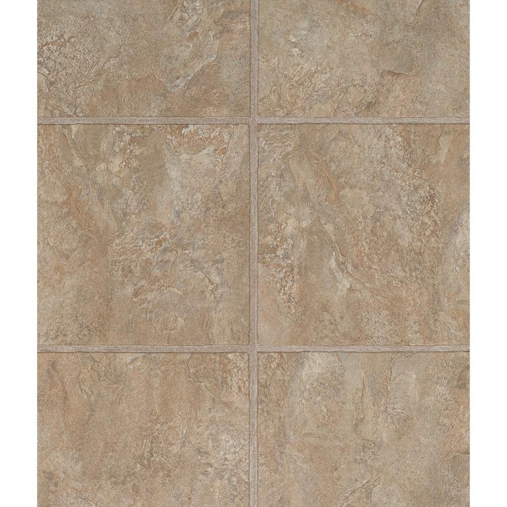 Tuscan Beige 12 in. x 36.61 in. Floating Vinyl Tile Flooring (15.26 sq. ft. / case)