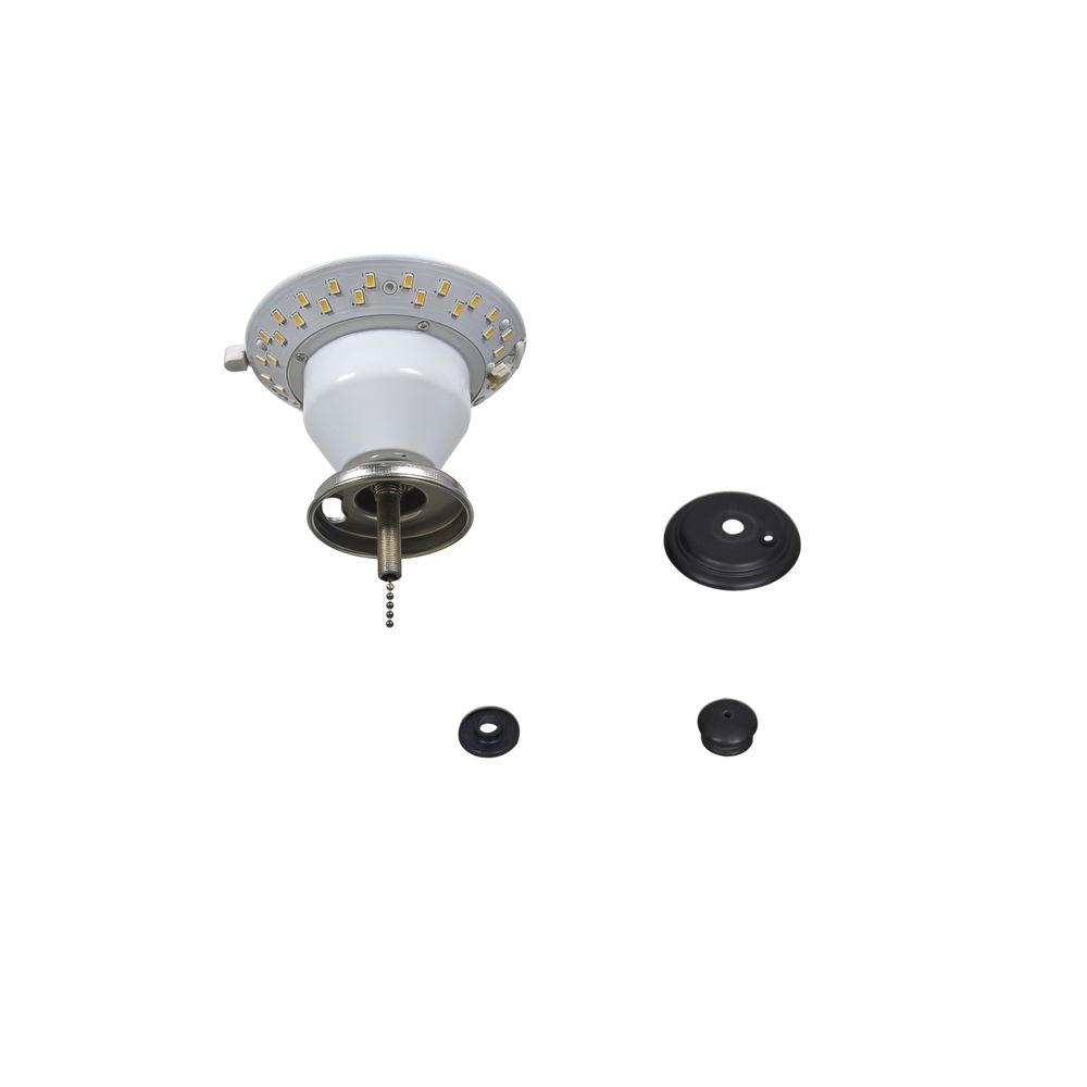 Air Cool Carrolton Ii 52 In Led Oil Rubbed Bronze Ceiling