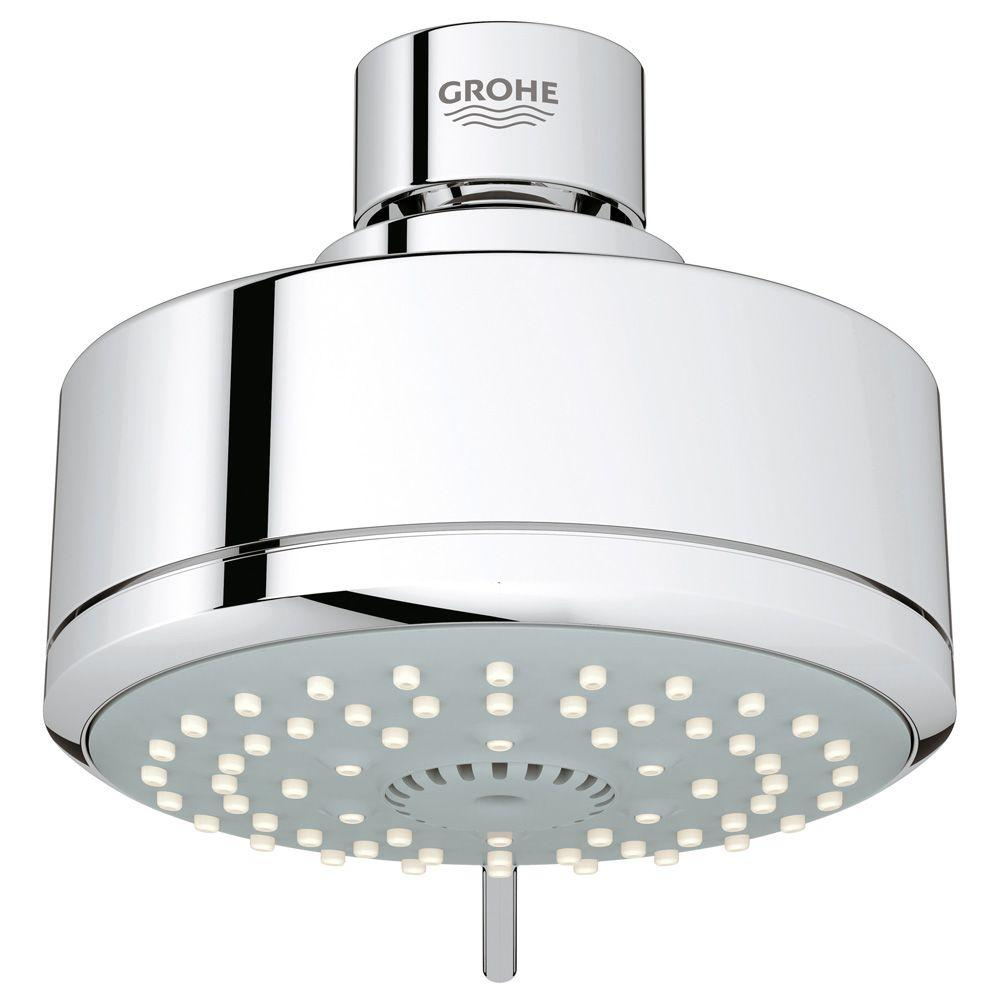 New Tempesta Cosmopolitan 100 4-Spray 4 in. Showerhead in StarLight Chrome