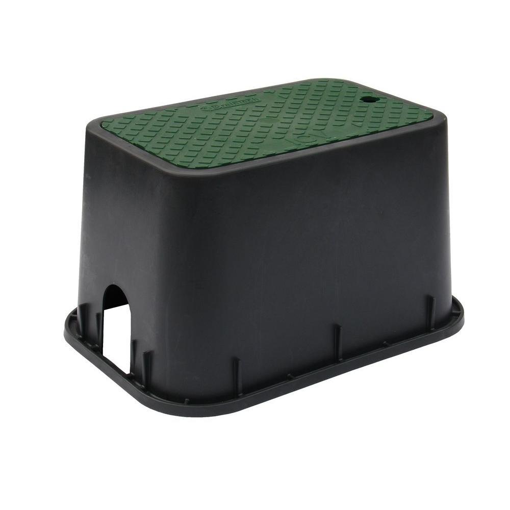 DrainTech 12 in. Rectangular Valve Box with Lid