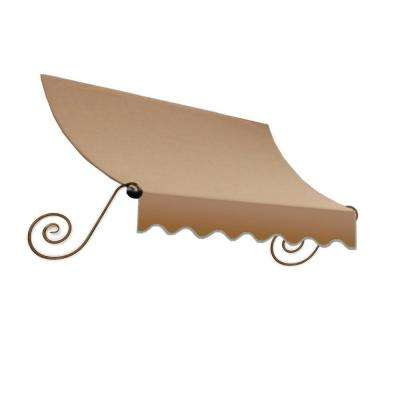 5 ft. Charleston Awning (31 in. H x 24 in. D) in Tan