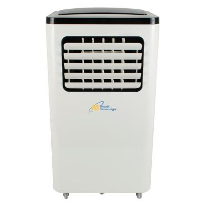 8,000 BTU (4,000 BTU,DOE) Portable Air Conditioner with Dehumidifier and Remote in White