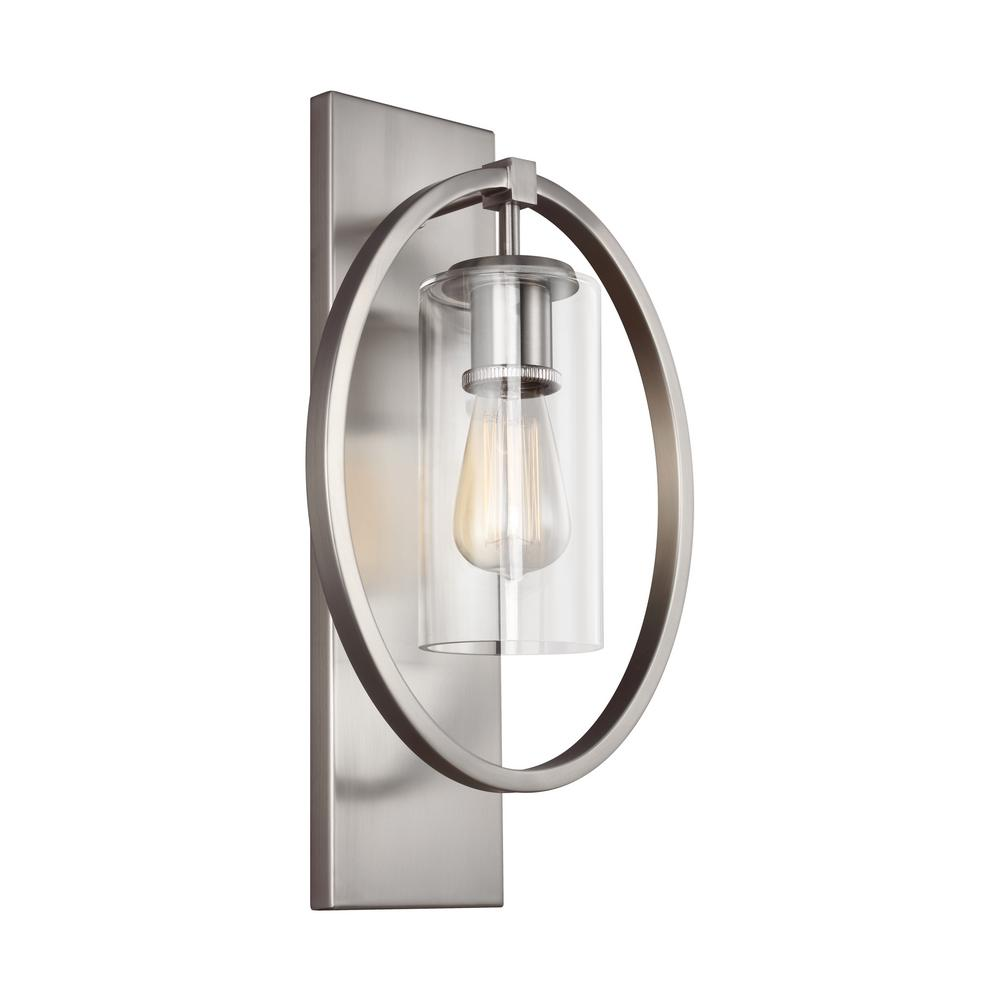 Marlena 1-Light Chrome Wall Sconce
